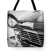 1957 Ford Fairlane Grille -107bw Tote Bag