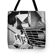 1957 Ford Fairlane Grille -205bw Tote Bag