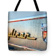 1957 Ford Skyliner Retractable Hardtop Emblem Tote Bag
