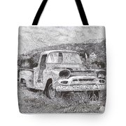 Ran When Parked Tote Bag