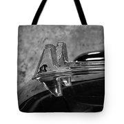 1957 Lincoln Capri Hood Ornament Tote Bag