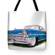 1957 Lincoln Premiere Convert Tote Bag