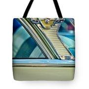 1957 Mercury Monterey Sedan Emblem Tote Bag
