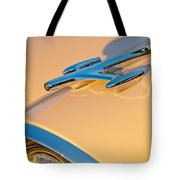 1957 Oldsmobile Hood Ornament 6 Tote Bag