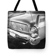1957 Studebaker Golden Hawk Bw    Tote Bag