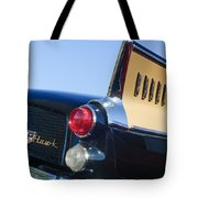1957 Studebaker Golden Hawk Supercharged Sports Coupe Taillight Emblem Tote Bag