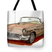 1957 Thunderbird Tote Bag