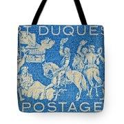 1958 Battle Of Fort Duquesne Stamp Tote Bag