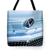 1958 Buick Roadmaster 75 Convertible Grille Emblem Tote Bag