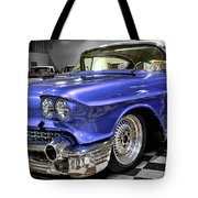 1958 Cadillac Deville Tote Bag