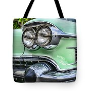 1958 Cadillac Headlights Tote Bag