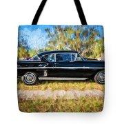 1958 Chevrolet Bel Air Impala Painted     Tote Bag