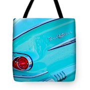 1958 Chevrolet Belair Taillight 2 Tote Bag