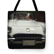 1958 Chevrolet Corvette Tote Bag