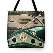 1958 Chevrolet Impala Steering Wheel Tote Bag