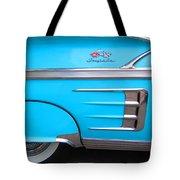 1958 Chevrolet Impala Tote Bag