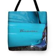 1958 Ford Thunderbird Detail Tote Bag