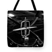 1958 Lincoln Continental Hood Ornament Tote Bag