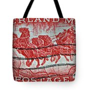 1958 Overland Mail Stamp Tote Bag
