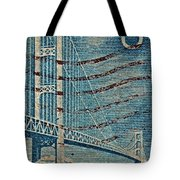1958 The Mighty Mac Stamp Tote Bag