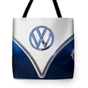 1958 Volkswagen Vw Bus Hood Emblem Tote Bag