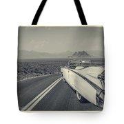 1959 Cadillac Eldorado Convertible Ambrotype Tote Bag