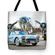 1959 Chevrolet Corvette Tote Bag