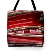 1959 Chevrolet Taillight Tote Bag