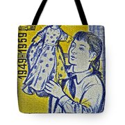 1959 Czechoslovakia Stamp Tote Bag