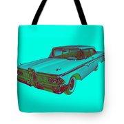 1959 Edsel Ford Ranger Modern Popart Tote Bag