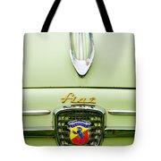 1959 Fiat 600 Derivazione 750 Abarth Hood Ornament Tote Bag