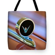 1959 Ford Thunderbird Convertible Hood Ornament Tote Bag