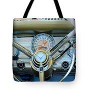 1959 Ford Thunderbird Convertible Steering Wheel Tote Bag