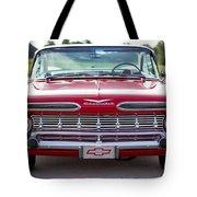 1959 Impala Hardtop Sport Coupe Tote Bag