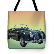 1959 Jaguar 150 S S Drop Head Coupe Tote Bag