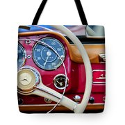 1959 Mercedes-benz 190 Sl Steering Wheel Tote Bag