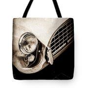 1960 Ac Aceca Grille Emblem -0058s Tote Bag