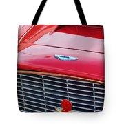 1960 Aston Martin Db4 Grille Emblem Tote Bag