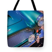 1960 Aston Martin Db4 Series II Grille Tote Bag by Jill Reger