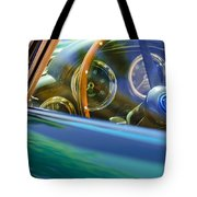 1960 Aston Martin Db4 Series II Steering Wheel Tote Bag