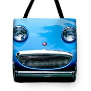 1960 Austin-healey Sprite Tote Bag by Jill Reger