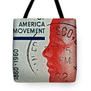 1960 Boys' Clubs Of America Movement Stamp Tote Bag