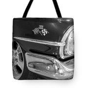 1960 Chevrolet Bel Air Bw 012315 Tote Bag