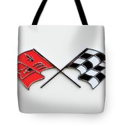 1960 Chevrolet Corvette Emblem Tote Bag