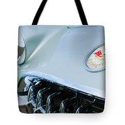 1960 Chevrolet Corvette Hood Emblem Tote Bag
