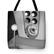 1960 Chevrolet Corvette Instruments Tote Bag by Jill Reger