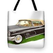 1960 Continental Convertible Tote Bag