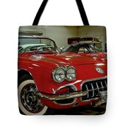 1960 Corvette Tote Bag