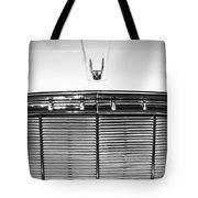 1960 Desoto Fireflite Two-door Hardtop Grille Emblem -0931bw Tote Bag