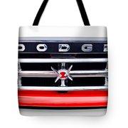 1960 Dodge Truck Grille Emblem Tote Bag